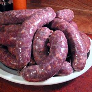 lamb-rosemary-and-red-wine-sausage image