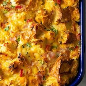fluffy-strata-recipe-overnight-breakfast-casserole-a image