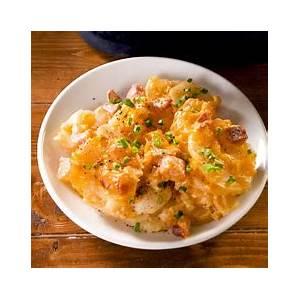 best-cheesy-ham-potato-casserole-recipe-how-to-make image