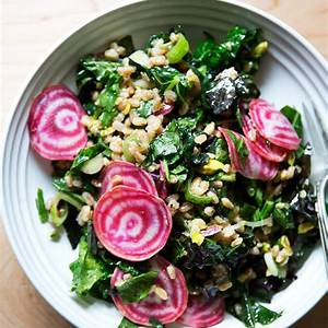 charlie-bird-farro-salad-with-raw-beets-alexandras image
