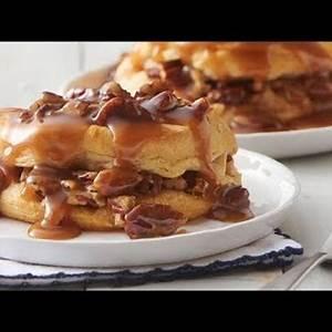 pecan-praline-stuffed-breakfast-biscuit-sandwiches image