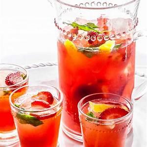 sparkling-strawberry-sangria-recipe-simply image