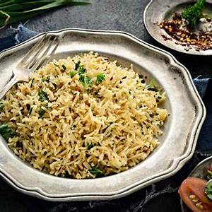 buttered-herbed-rice-recipe-by-archanas-kitchen image