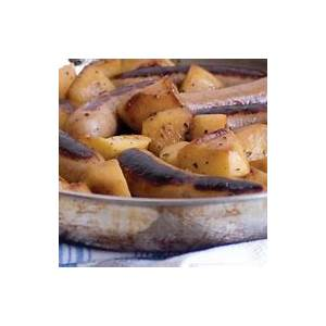 recipes-pan-grilled-sausage-with-apples-and-onions image