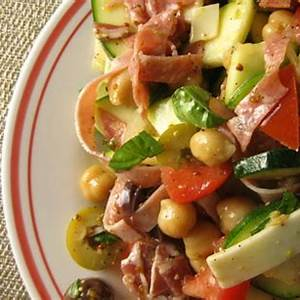 zucchini-antipasto-salad-recipe-lillys-table-cook image