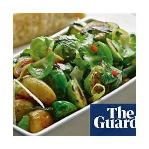 brussels-sprouts-with-caramelised-garlic-and-lemon-peel image