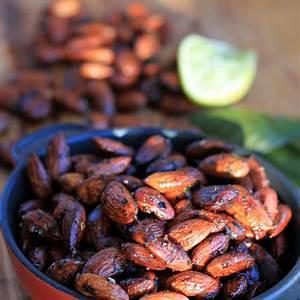 chili-lime-toasted-almonds-recipe-irena-macri image