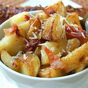 recipe-for-roasted-potatoes-with-bacon-parmesan image
