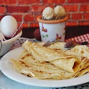 how-to-make-easy-pancakes-food-home-magazine image