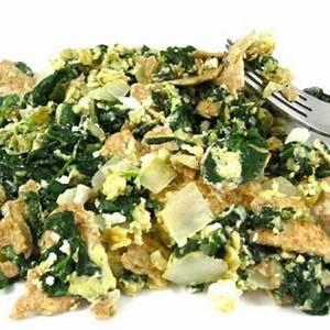 skinny-matzo-brei-with-fresh-spinach-garlic-and image