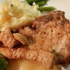oven-fried-pork-chops-recipe-recipezazzcom image