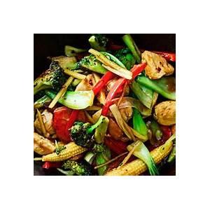ginger-chicken-stir-fry-recipe-olivemagazine image