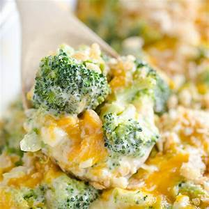 the-best-broccoli-cheese-casserole-with-ritz-crackers image