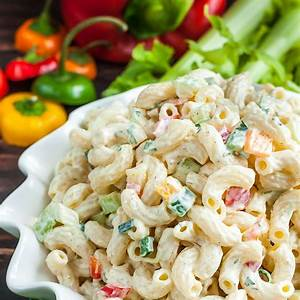 homestyle-macaroni-salad-healthy-veggie-centric image
