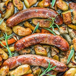 baked-sausages-with-apples-sheet-pan-dinner-jo-cooks image