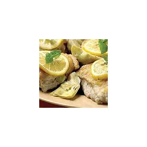 baked-chicken-thighs-with-artichokes-garlic-and-lemon image
