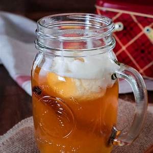 spiced-apple-cider-made-from-apple-juice-video image