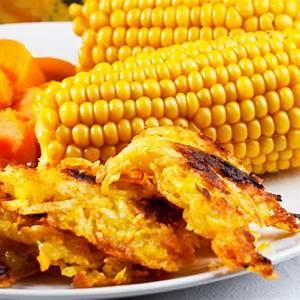 sweet-potato-latkes-recipe-james-beard-foundation image