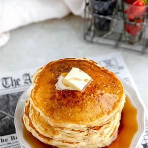 best-buttermilk-pancakes-light-two-peas-their-pod image