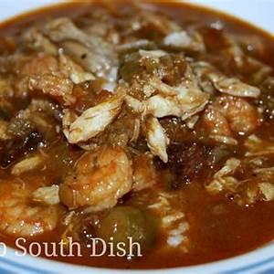 deep-south-dish-seafood-and-okra-gumbo-with-shrimp-crab image