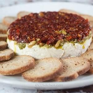 tomato-and-pesto-layered-dip-recipe-cdkitchencom image