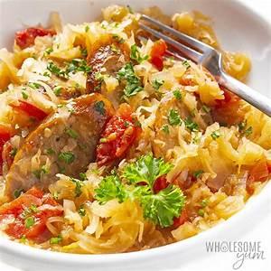kielbasa-and-sauerkraut-recipe-easy-wholesome-yum image