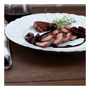 duck-breast-with-balsamic-cherry-sauce image