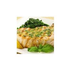 lemon-soy-swordfish-with-avocado-butter-recipe-foodcom image