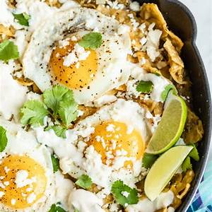 quick-and-easy-chilaquiles-verdes-hello-veggie image