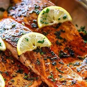 pan-seared-salmon-with-lemon-garlic-butter-sauce image