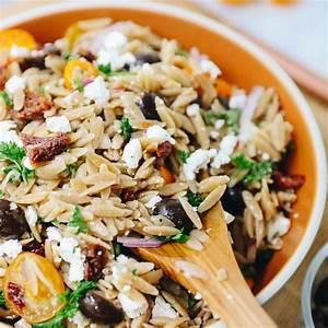 mediterranean-orzo-salad-with-feta-the-healthy-maven image