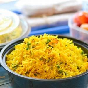 lemon-rice-recipe-chefdehomecom image