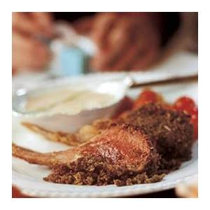 herb-crusted-rack-of-lamb-recipe-bon-apptit image