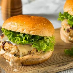 best-ever-grilled-spicy-turkey-burgers-recipe-healthy image