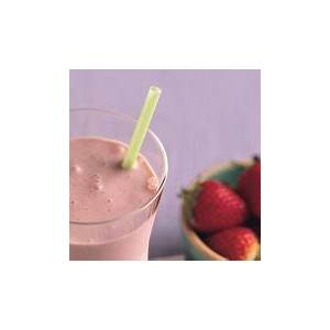 coconut-strawberry-and-banana-smoothie image