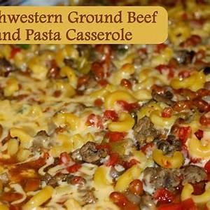 recipe-southwestern-ground-beef-and-pasta image