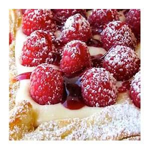 rustic-raspberry-lemon-cheesecake-tart-recipe-flavorite image