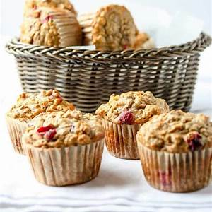 cranberry-apple-oatmeal-muffins-with-dates-walnuts image