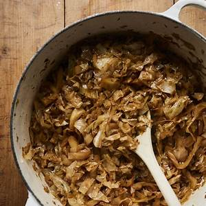easy-beer-braised-cabbage-recipe-the-spruce-eats image
