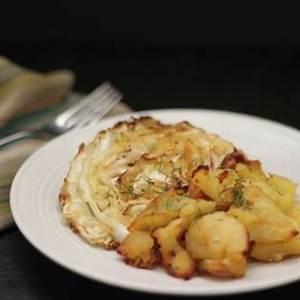 crispy-roasted-cabbage-and-smashed-potatoes-recipe-irish image