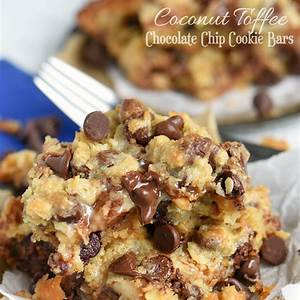 coconut-toffee-chocolate-chip-cookie-bars image