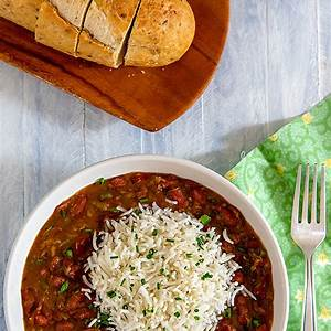 real-louisiana-red-beans-and-rice-fatfree-vegan-kitchen image