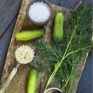 homemade-german-mustard-pickles-senfgurken image