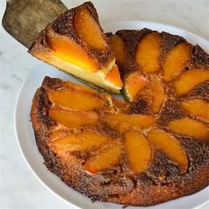 caramel-peach-upside-down-cake-get-the-good-stuff image
