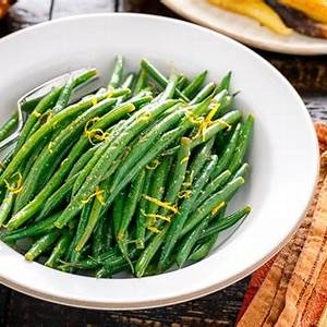 green-beans-with-yuzu-vinaigrette-インゲンの柚子和え image