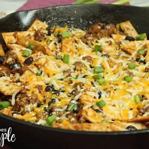 easy-beef-burrito-skillet-recipes-simple image
