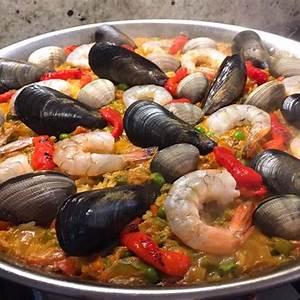 seafood-paella-paella-de-marisco-the-daring-gourmet image