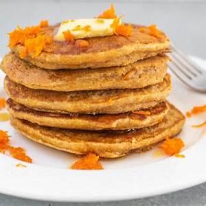 carrot-cake-oatmeal-pancakes-marisa-moore-nutrition image