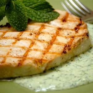 grilled-swordfish-with-spicy-yogurt-sauce-essential image