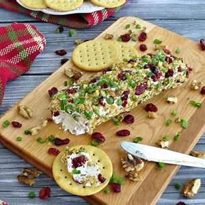 cranberry-walnut-holiday-cheese-log image